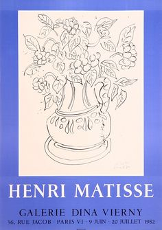 mattise at the tate   poster from the Tate Gallery's 1953 show, The Sculpture of Matisse ...