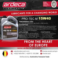 Introducing Pro-Tec M It is a specially formulated super multi-grade oil perfect for your heavy-duty vehicles!