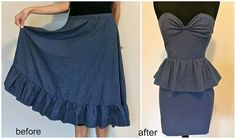 Amazing blog!  She takes old clothes and completely repurposes them into something fantastic.