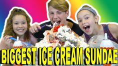 World's Biggest Ice Cream Sundae!!!