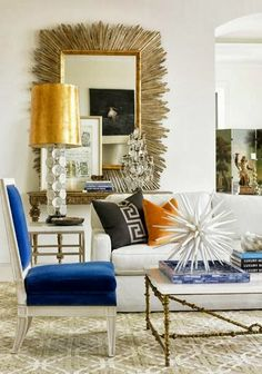 Ideas for the great room. Love the combination of colours and textures. Subtle and quiet, but with classy pop.