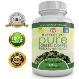 """Effective PURE GREEN COFFEE BEAN Extract - As Seen On TV - MAX STRENGTH FAT BURNER - Premium Formula - Diet Pills - 100% Pure - Natural Organic - 4800 mg Daily - POTENT 50% GCA - FAST WEIGHT LOSS - Plus Appetite Suppressant - 100% LIFETIME GUARANTEE - 120 Pure Veggie Capsules - Who Else Wants To """"Lose Weight Quickly"""", """"Burn Fat Faster"""" & """"Drop Inches Weekly"""" And More, Without Strenuous Exercise or Dieting?  What's Special About G"""