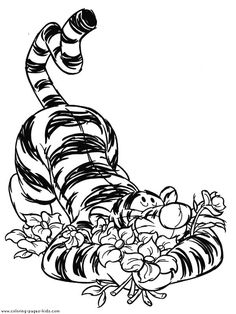Tigger Winnie the Pooh color page, disney coloring pages, color plate, coloring sheet,printable coloring picture Make your world more colorful with free printable coloring pages from italks. Our free coloring pages for adults and kids. Fall Coloring Pages, Cartoon Coloring Pages, Disney Coloring Pages, Animal Coloring Pages, Adult Coloring Pages, Coloring Pages For Kids, Coloring Sheets, Coloring Books, Tigger Disney
