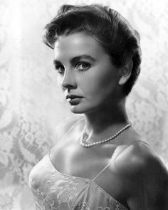 Jean Merilyn Simmons, OBE (January 31, 1929 – January 22, 2010) was a British-American actress. She appeared predominantly in films, beginning with those films made in Great Britain during and after World War II – she was one of J. Arthur Rank's 'well-spoken young starlets' – followed mainly by Hollywood films from 1950.