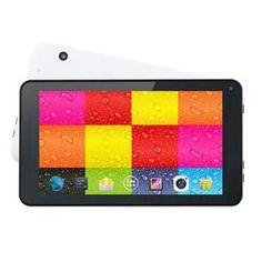 """7"""""""""""""""" Quad Core Tablet White"""