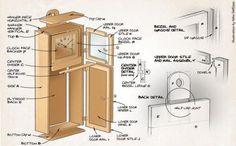 shaker clock | Canadian Woodworking