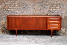 vintage furniture scandinavian sideboard