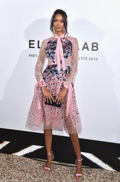 Lais Ribeiro: Elie Saab Fashion Show in Paris - GotCeleb Lais Ribeiro, Short Mini Dress, Short Dresses, Fashion Show, Fashion Outfits, Paris Fashion, Model Street Style, Paris Shows, Celebrity Red Carpet
