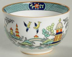 Coalport, Chinese Willow - Page 1 China Dinnerware, Canisters, Sugar Bowl, Container, Chinese, Crystals, Tableware, Pattern, Silver