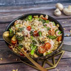 Gustavs risotto Paella, Broccoli, Risotto, Ethnic Recipes