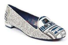 R2D2 silver sparkle