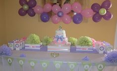 Wonderful Princess Birthday Party Decoration Ideas with Beautiful Princess Themed Birthday Party Ideas: Captivating Princess Birthday Party Decoration Ideas With Cake Birthday Long Tablecloth Balloons With Shaped Flowers For Princess Themed Birthday Party And Princess Party Favor Ideas ~ losellos.com Decorating Inspiration