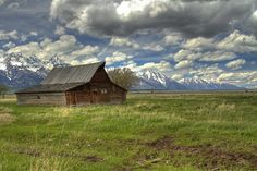 Moulton Homestead by Jack R Perry
