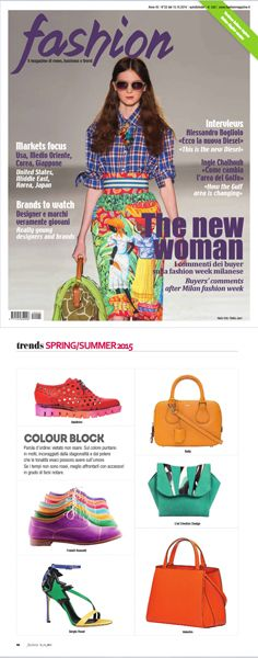 #ledemotiondesign on #fashion magazine! #led #handbags