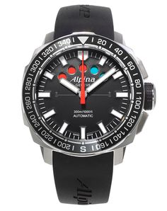 Yacht Timer Regatta Countdown (ref. AL-880LB4V6). Professional Swiss Yachting Watch with 10min mechanical countdown.