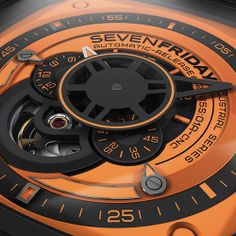 INSPIRED BY KUKA ROBOTICS – SHOWS ITS TRUE COLORS SEVENFRIDAY P1/3-4-5 KUKA