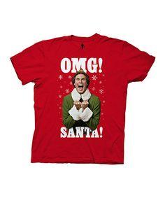 Love this Ekf 'OMG Santa' Tee - Men's Regualr on #zulily! #zulilyfinds
