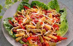 Bean Caesar Salad