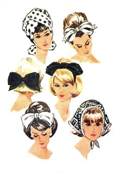 Dress Pattern Vintage Hats Ideas For 2019 1960s Fashion, Vintage Fashion, Victorian Fashion, Fashion Fashion, Vintage Outfits, Vintage Clothing, Patron Vintage, Mccalls Patterns, Pattern Sewing