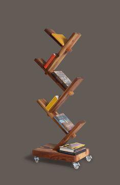 Rolling Tree Bookshelf
