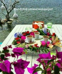 Coffee with all things I love Turkish Coffee, Coffee Time, Tea Time, Tablescapes, Diy And Crafts, Beautiful Pictures, Table Decorations, Instagram Posts, Furniture