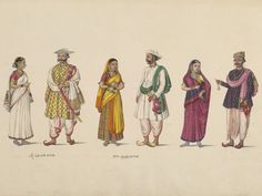 Three Couples, Thanjavur, c1830