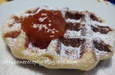 Obľúbené recepty: Tradičné belgické waffle