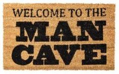Man Cave Door Mat