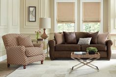 Leather and Chevron - Sure Fit Slipcovers: Receive Your Free Fall 2014 Sure Fit Catalog
