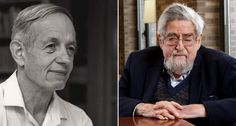 John Nash (left) and Louis Nirenberg (right) will receive the 2015 Abel Prize for their work on partial differential equations. ~~ Nash: Courtesy of Princeton; Nirenberg: ©NYU Photo Bureau: Hollenshead
