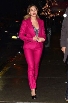 Beyoncéon the streets of Manhattan on Dec. 22, 2014 in New York City. Getty Images -Cosmopolitan.com