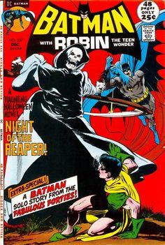 Batman #237 (1971).  Cover art:  The powerful Neal Adams