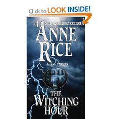 Anne Rice is insane or she could have never have imagined the sick twisted world of a 500 year old family of witches. About halfway through you forget how messed up her head must be and are just completely sucked into the witch drama.