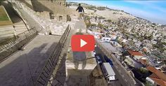 The greatest way to see Israel. Don't watch this if you are afraid of heights.....