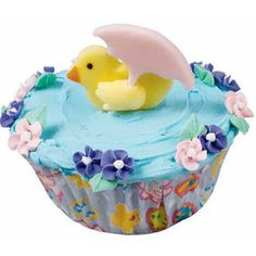 Watch the Birdie Cupcakes