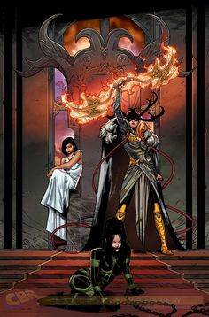"""Images for : Marguerite Bennett Maps Out Journey of """"Angela: Queen of Hel"""" - Comic Book Resources"""