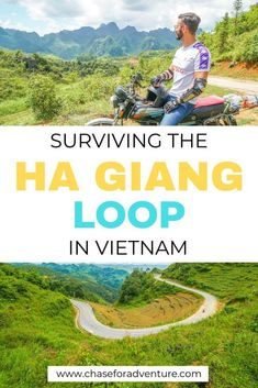 Are you planning on visiting Vietnam and want to do a motorbike loop while there? The Ha Giang Loop in Northern Vietnam is one of the best things to do in Vietnam. Showcasing some of the most beautiful scenery in Vietnam, the Ha Giang Loop takes you through twists and turns . In this Ha Giang Loop post, we cover what to see, eat, and do on the Ha Giang Loop! Do you have what it takes to do the Ha Giang Motorbike loop in Northern Vietnam? Click here now! #hagiang #vietnamtrip #vietnamtravel Vietnam Travel Guide, Asia Travel, Laos, Daily Inspiration, Travel Inspiration, Travel Ideas, Travel Tips, Visit Vietnam, Online Travel