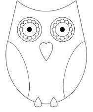 dessin hibou 224 imprimer et bricolage chouette pour enfants