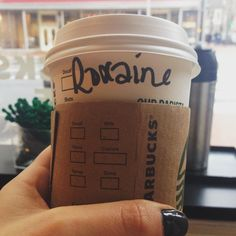 Alright that's cool. Creative indeed. #starbucksfail
