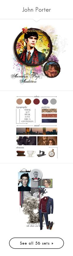 """""""John Porter"""" by annabelle-95 ❤ liked on Polyvore featuring art, Home Decorators Collection, NARS Cosmetics, Alexander McQueen, rag & bone, American Eagle Outfitters, Louis Vuitton, Charvet, men's fashion and menswear"""