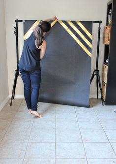 How to make a graduation backdrop