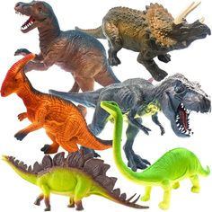 ToyerBee 13?? Dinosaur Toys, 6 Pcs Jumbo Dinosaur Set, T-rex Dinosaurs Toys for Dinosaur Lovers, Kids, Adults, Great Choice for Boys, Girls, Birthday Gift, Party Favors, Rewards with Educational Map * Check this awesome product by going to the link at the image. (This is an affiliate link)