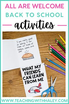 Grab these All Are Welcome activities for back to school. This book is a great introduction to social-emotional learning about kindness, inclusion, and diversity. During the beginning of the school year, it's so important to set up a strong classroom community and start building relationships. This helps with behavior management and student learning. This literacy activity includes comprehension questions, vocabulary practice, and hands-on activities to go with All Are Welcome.