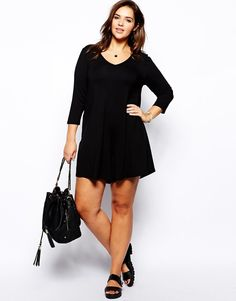 ASOS CURVE Exclusive Swing Playsuit UK Size:18 EU Size:46 RRP £30.00