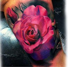 Bold, Bright & Beautiful Realistic Tattoos by Steve Butcher   Tattoodo
