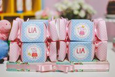 Flor de Cerejeira - Festas Personalizadas: Peppa Pig da Lia