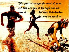 Triathlon... been there done that... WELL!
