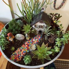 Create Cute Fairy Garden Ideas 9