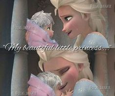 Find images and videos about frozen, elsa and jack frost on We Heart It - the app to get lost in what you love. All Disney Princesses, Disney Princess Frozen, Princess Luna, Disney Couples, Disney Family, Jelsa, Elsa Y Jack Frost, Disney Theory, Disney Jokes