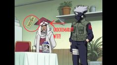 Wtf!!! Why did naruto have his poster on his wall before anyone knew of his existence?!! WTF! This is just like when we saw the 4th hokage walking alive and well! So.. Wh-what?! O.o #naruto #orochimaru #wtf #meme